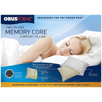 ObusForme Two-In-One Pillow - PL-TWO-01