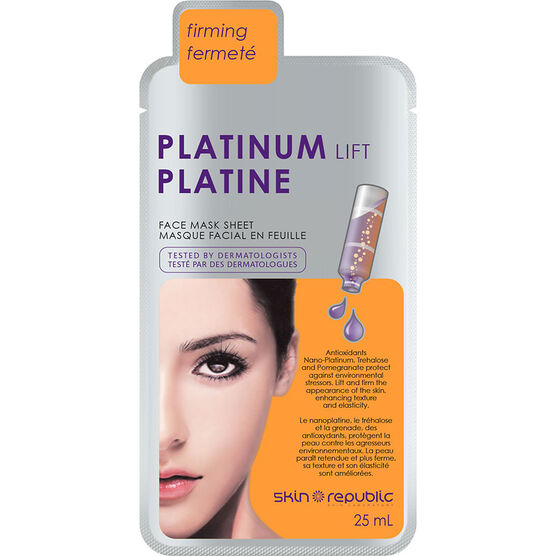 Skin Republic Platinum Lift Face Mask Sheet - 25ml