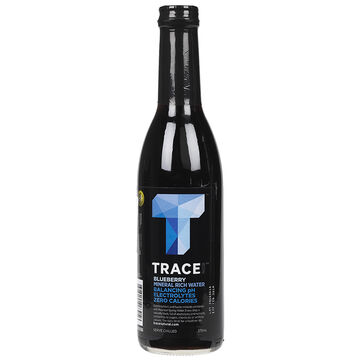 Trace Black Water - Blueberry  - 375ml