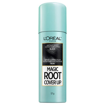 L'Oreal Root Cover Up Temporary Grey Concealer Spray - Black