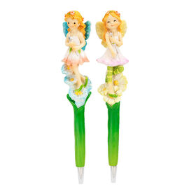 Hand Painted Angel Fairy Pen - Assorted