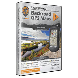 Backroad GPS Maps - Eastern Canada - 00945