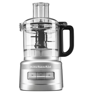 KitchenAid 7 Cup Food Processor with ExactSlice System - Contour Silver - KFP0711CU