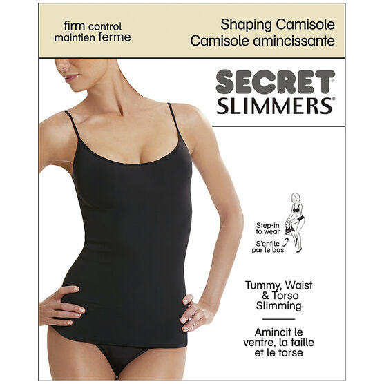 Secret Slimmers Shaping Camisole - D - Black
