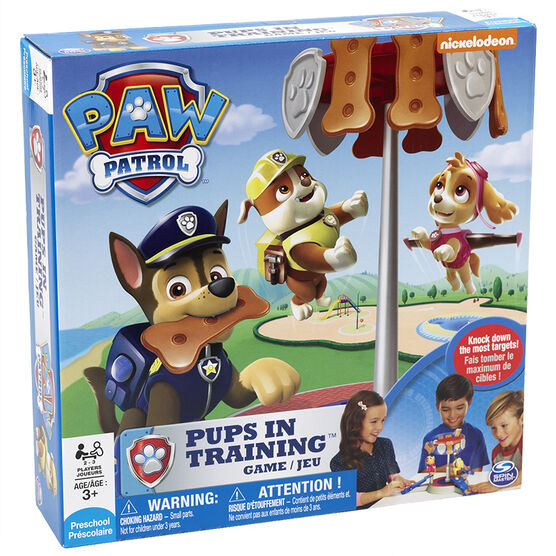 Paw Patrol Pups in Training Game