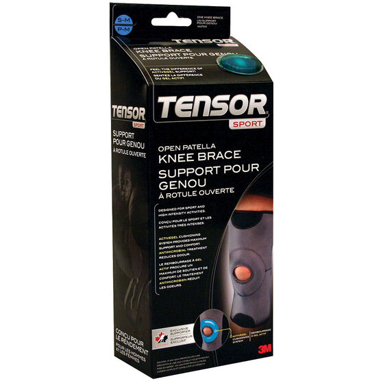 Tensor Sport Open Patella Knee Brace - Small/Medium