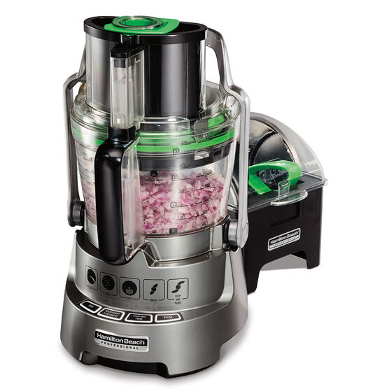 Hamilton Beach Pro Dicing Stack & Snap Food Processor - 70825C