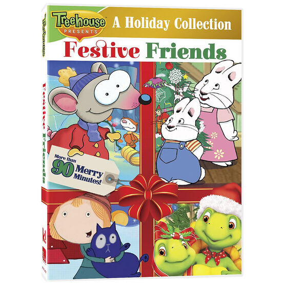 Treehouse Festive Friends: A Holiday Collection - DVD