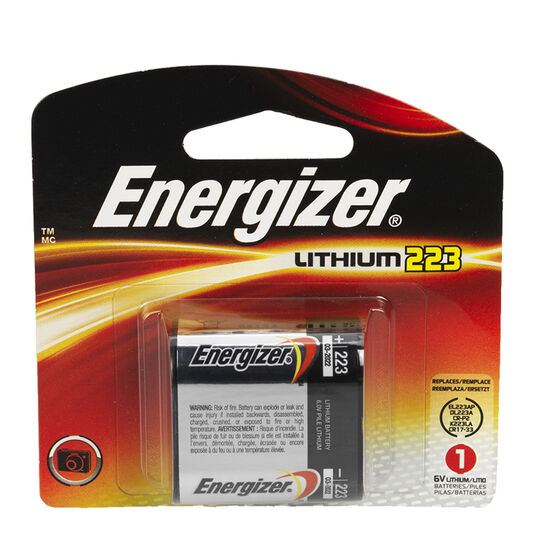 Energizer 6V Lithium Battery Single EL223