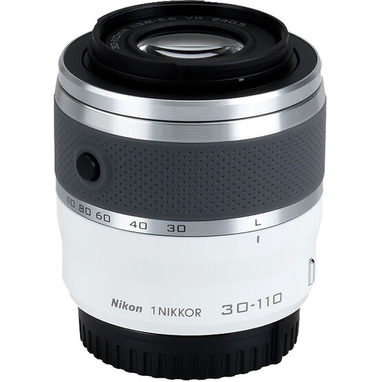 Nikon 1 VR 30-110mm f/3.8-5.6 - White - 3319 - Open Box Display Model