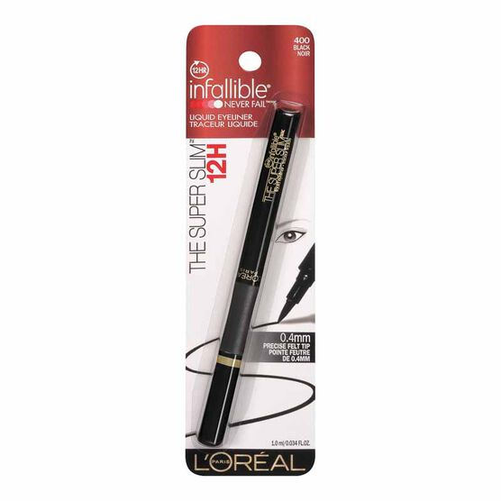 L'Oreal Infallible The Super Slim Eyeliner - Black