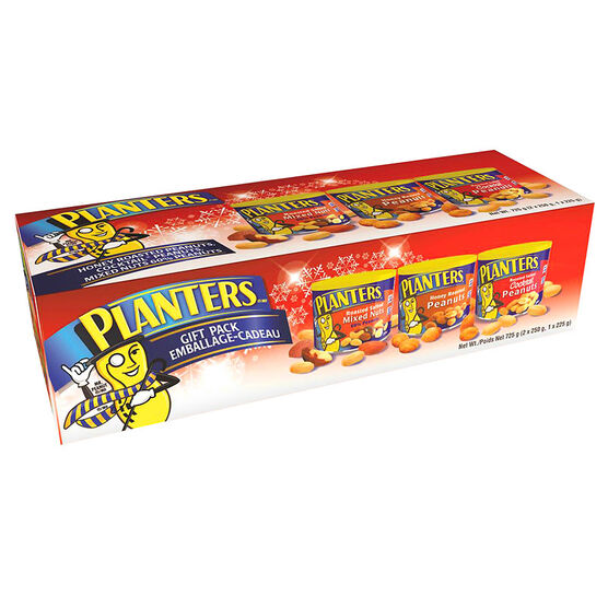 Planters Holiday Gift Pack - 3 pack