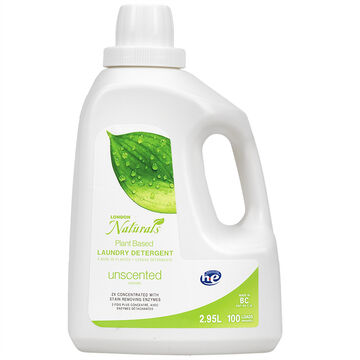 London Naturals 2X HE Laundry Detergent - Unscented - 2.95L