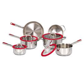 Lagostina Festa Rossa Cookware Set - 10 piece