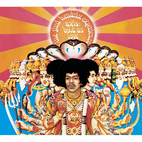 Jimi Hendrix - Axis: Bold As Love - CD