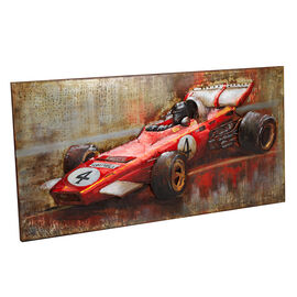 London Drugs Metal Print - Racing Car