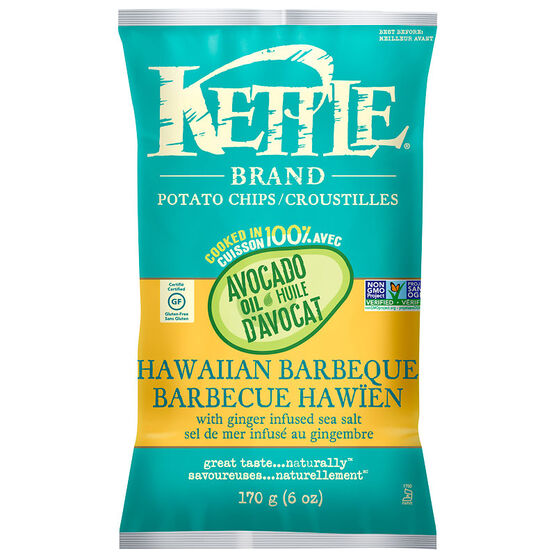 Kettle Brand Potato Chips - Hawaiian Barbeque - 170g