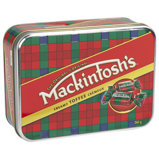 Mackintosh's Holiday Toffee - 260g Tin