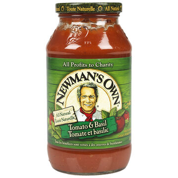 Newman's Own Tomato & Basil Bombolina Sauce - 645ml