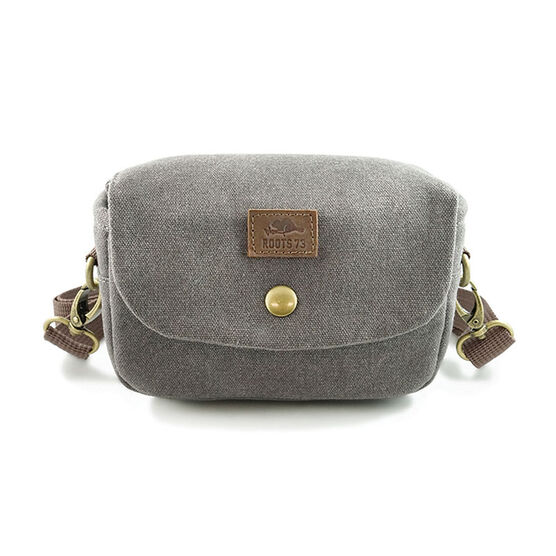 Roots73 RG10 Flannel Shoulder Bag - Grey - RG10