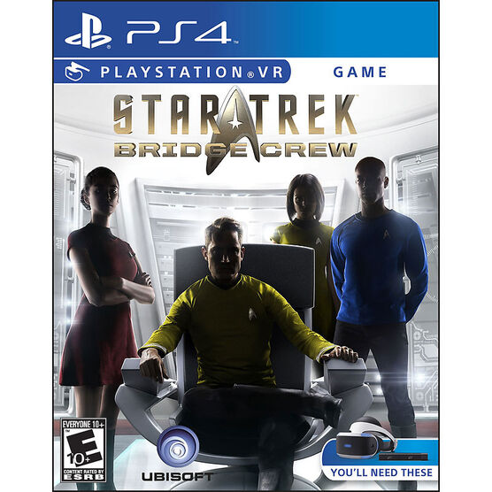 PRE-ORDER: PS VR Star Trek: Bridge Crew