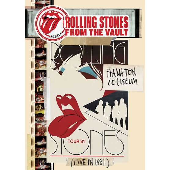 The Rolling Stones at Hampton Coliseum '81 - DVD