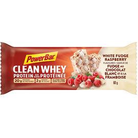 PowerBar Clean Whey Protein Bar - White Fudge Raspberry - 60g