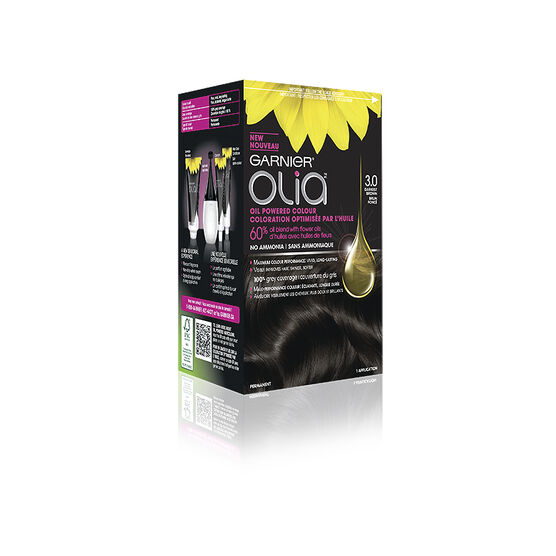 Garnier Olia Hair Colour - 3 Darkest Brown