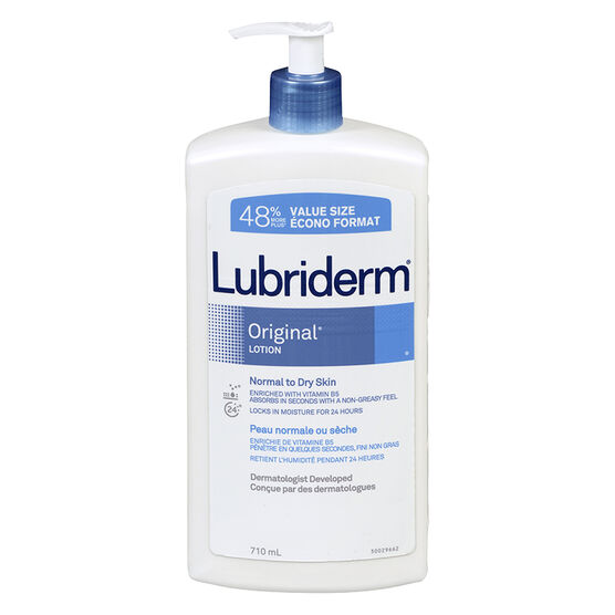 Lubriderm Original Lotion - Normal to Dry Skin - 710ml