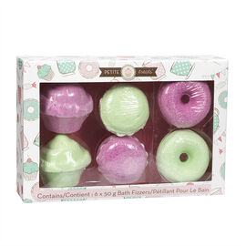 Petite Treats Dessert Bath Fizzers - 6 piece