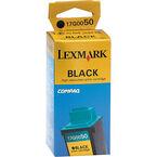 Lexmark 50 Z32 High Resolution Ink Cartridge - Black - 15M1057