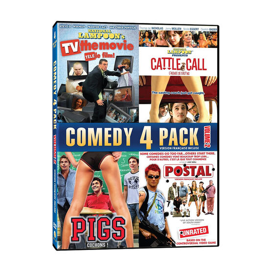 Comedy 4-Pack: Volume 2 - DVD