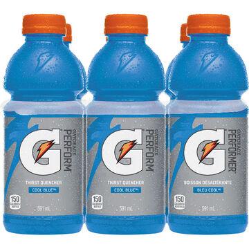 Gatorade Cool Blue - 6x591ml