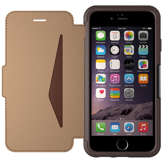 Otterbox Strada Case for iPhone 6/6s - Saddle Brown - OBSTIP66SAD