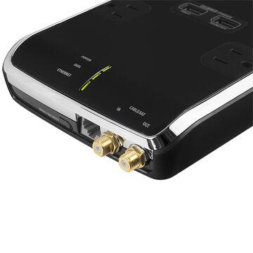 Monster Power Black Platinum 800 - 8 outlet - MPBPL800EF
