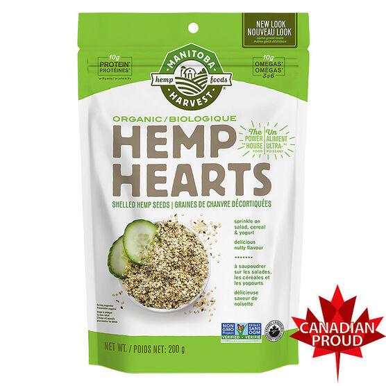 Manitoba Harvest Hemp Hearts - Organic - 200g