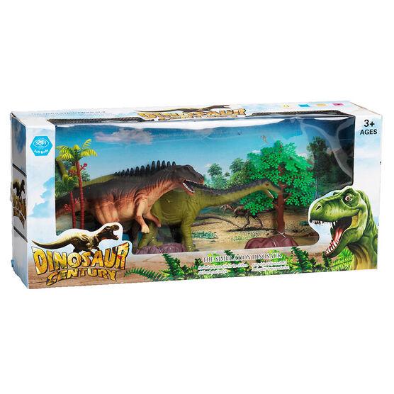 Dinosaur Century Set of 2 - Streptospondylus/Agustinia