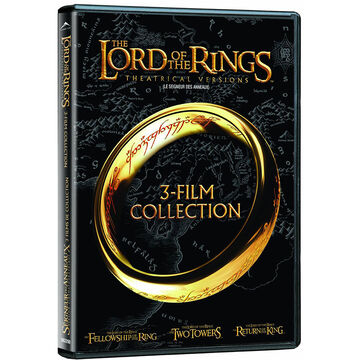 The Lord Of The Rings: Theatrical Trilogy - DVD