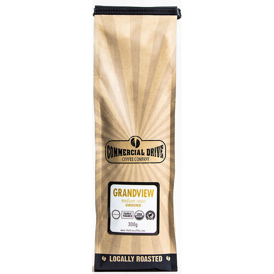 Commercial Drive Ground Coffee - Grandview - 300g