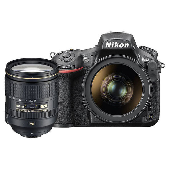 Nikon D810 with 24-120mm Lens - 33714