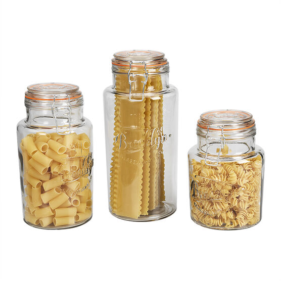 London Drugs Glass Canister Set - 3 piece