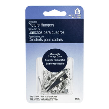 Helping Hand Picture Hangers - Assorted - 9's