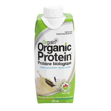 Orgain Organic Protein Shake - Sweet Vanilla Bean - 330ml