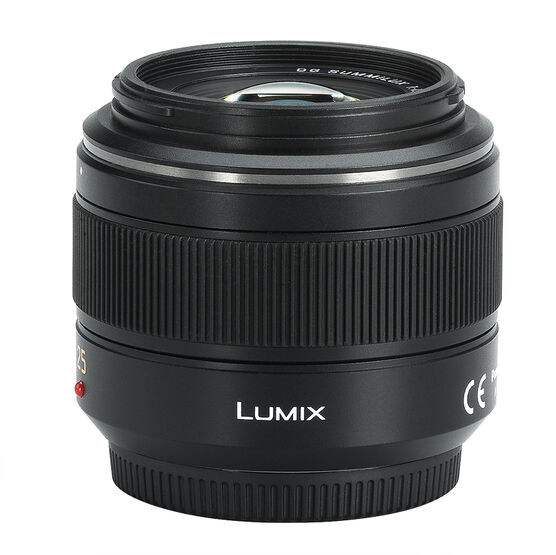 Panasonic Leica DG SUMMILUX 25mm f/1.4 Aspherical Single Focal Length Lens - HX025