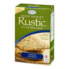 Grissol Rustic Flatbreads - Multiseed - 150g