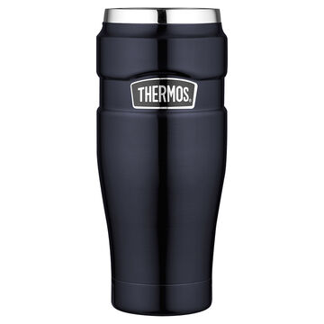 Thermos Stainless Steel Vacuum Insulated Tumbler - Midnight Blue - 470ml