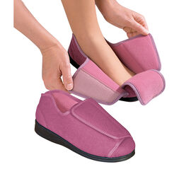 Silvert's Women's Extra Extra Wide Slippers