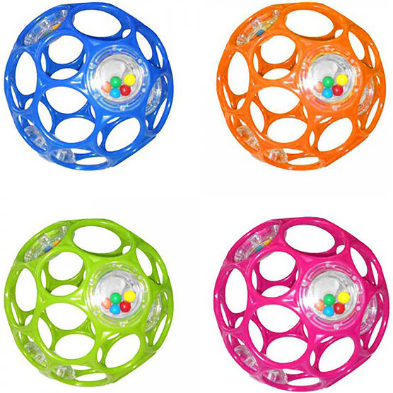 Oball with Rattle - Assorted