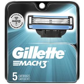 Gillette Mach3 Cartridges - 5's