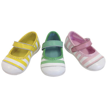 Outbaks Striped Mary Janes - Assorted - Girls
